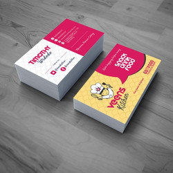 Veens Kitchen Business Card