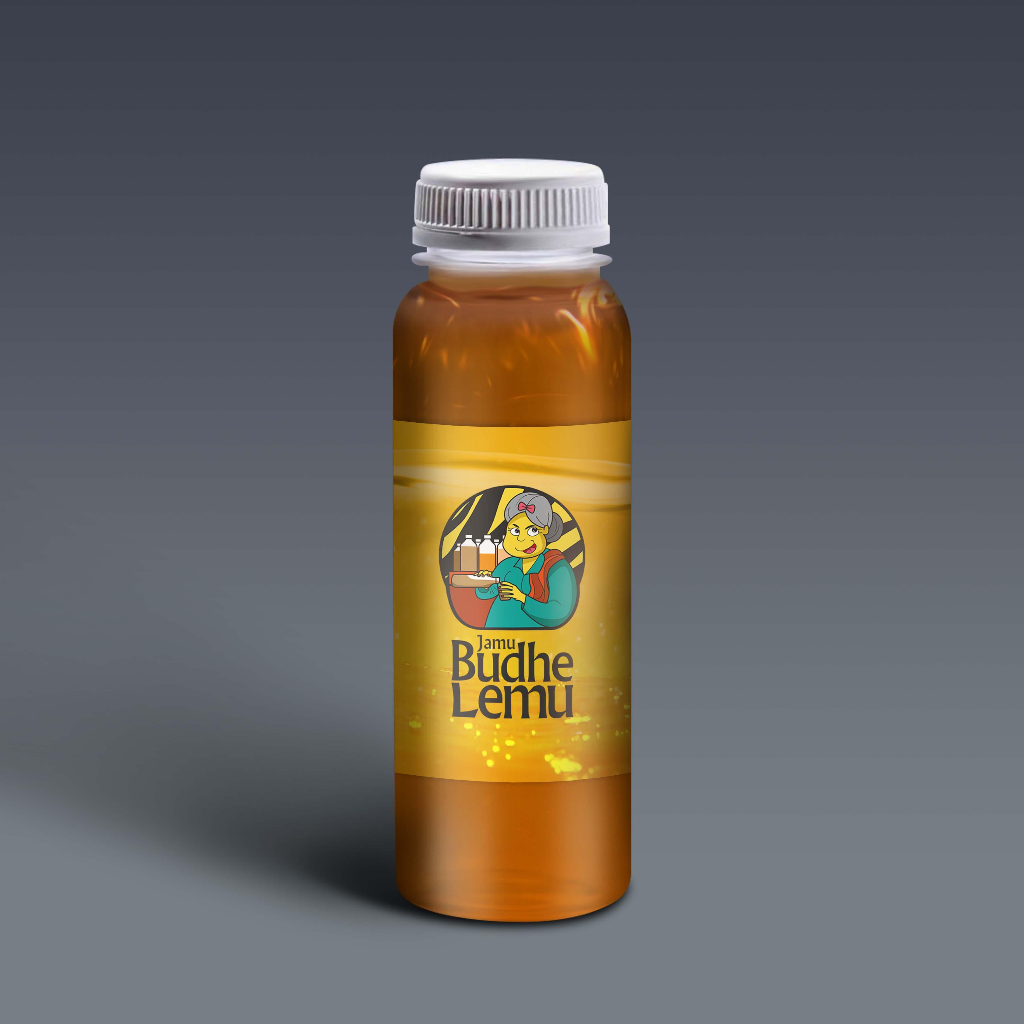 Jamu Budhe Lemu Bottle