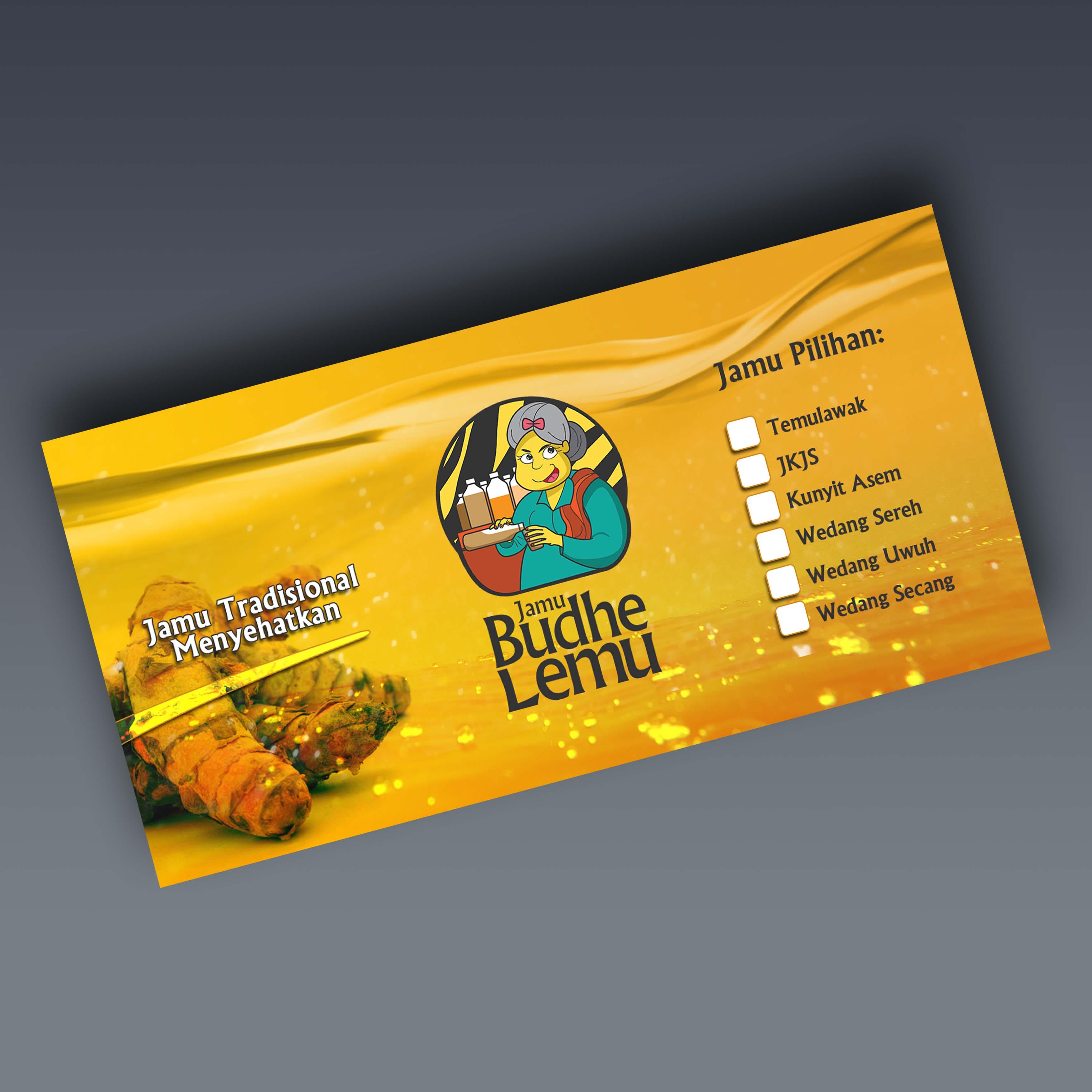 Jamu Budhe Lemu Sticker