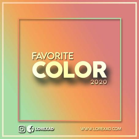 FAVORITE COLOR 2020