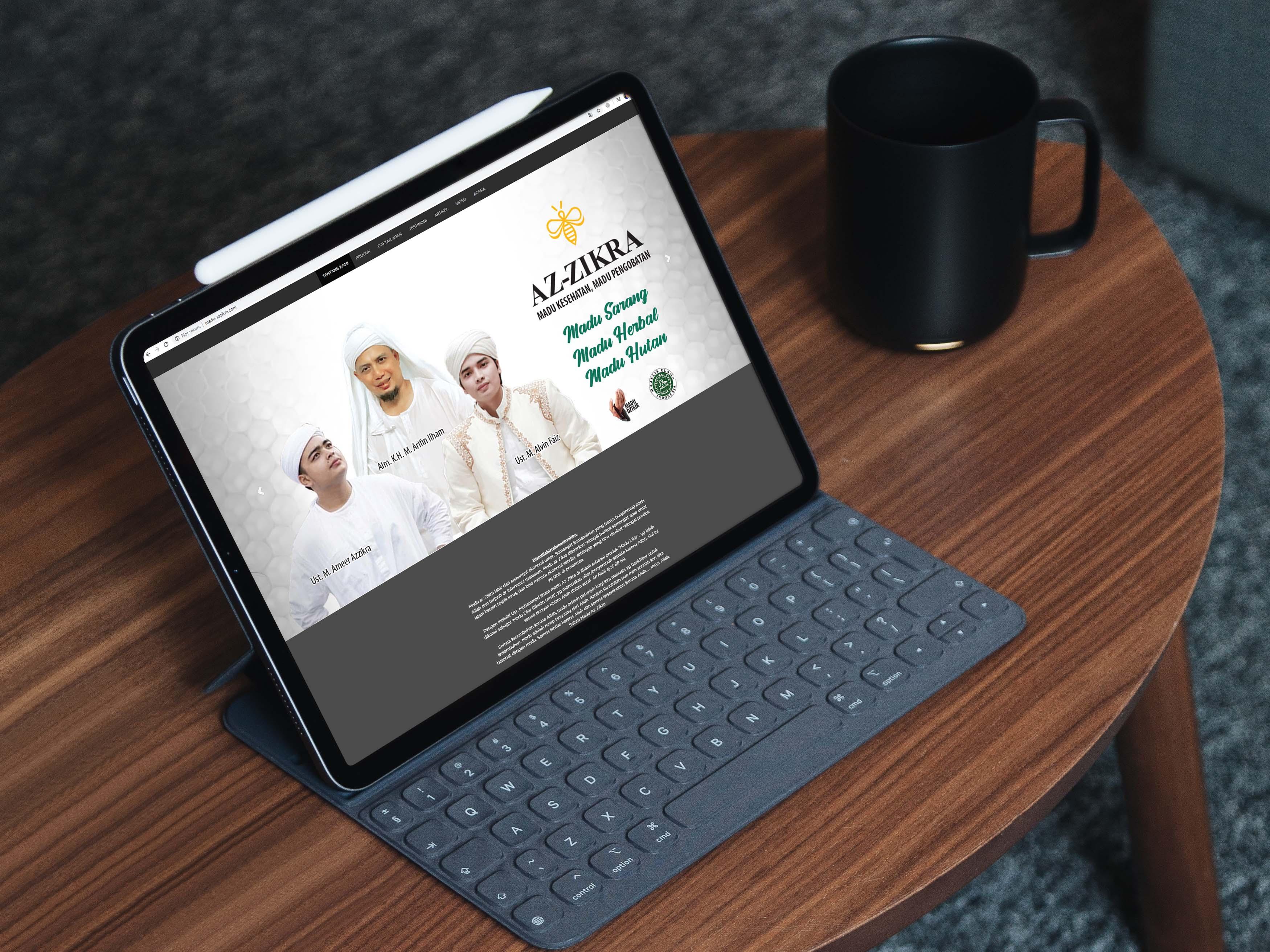 website madu-azzikra