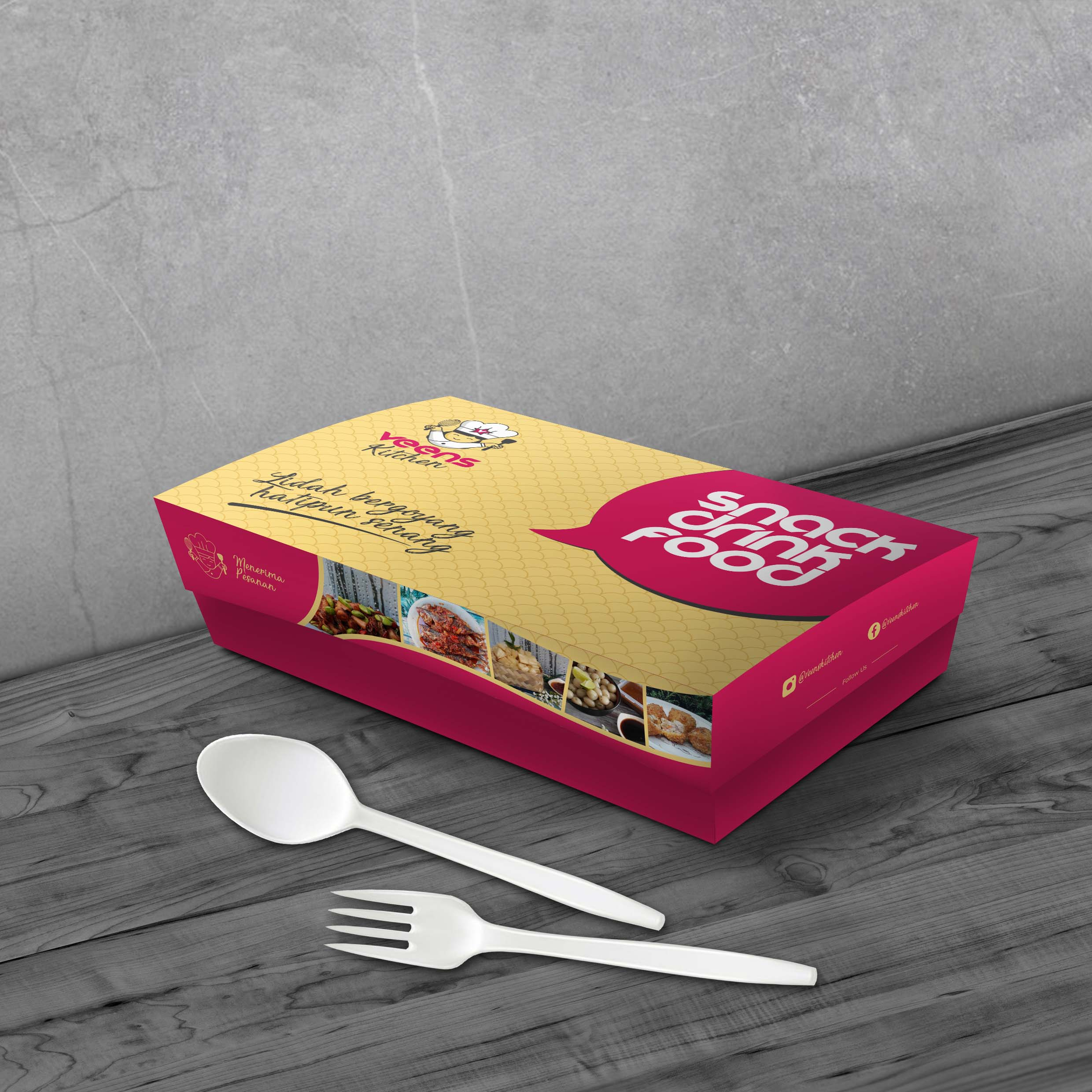 Veens Kitchen Food Packaging