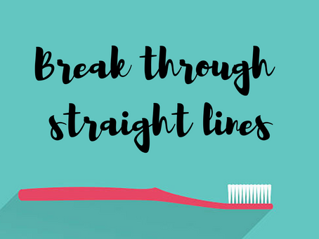 Break through straight lines