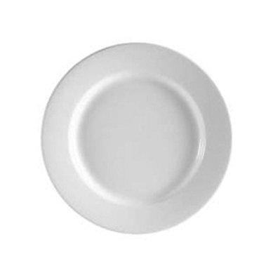 """Plate Round 6.25"""" WIDE RIM / 3 DOZ PER CASE"""