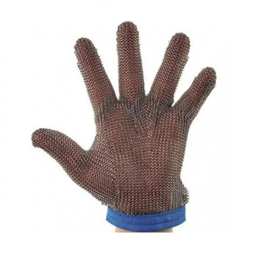 Large Light Weight Stainless Steel Protective Mesh Gloves