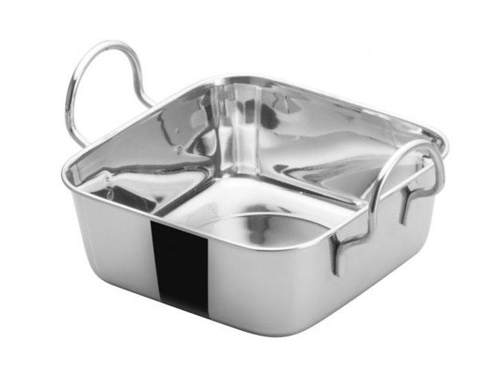 """Mini Roasting Pan, 4-1/2""""Sq, Stainless Steel"""