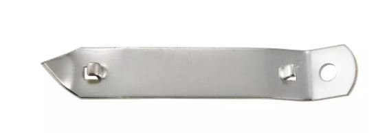 """Can Tapper/Bottle Opener, 4"""", Nickel Plated"""