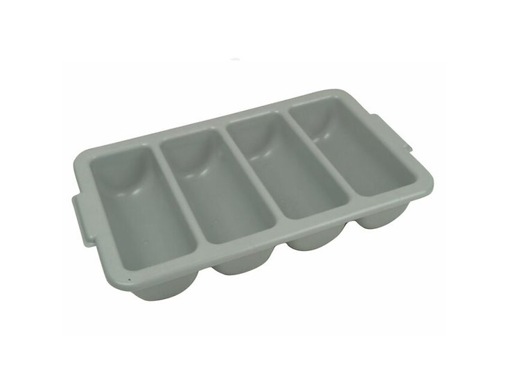 Cutlery Bin, 4 Compartment, PP