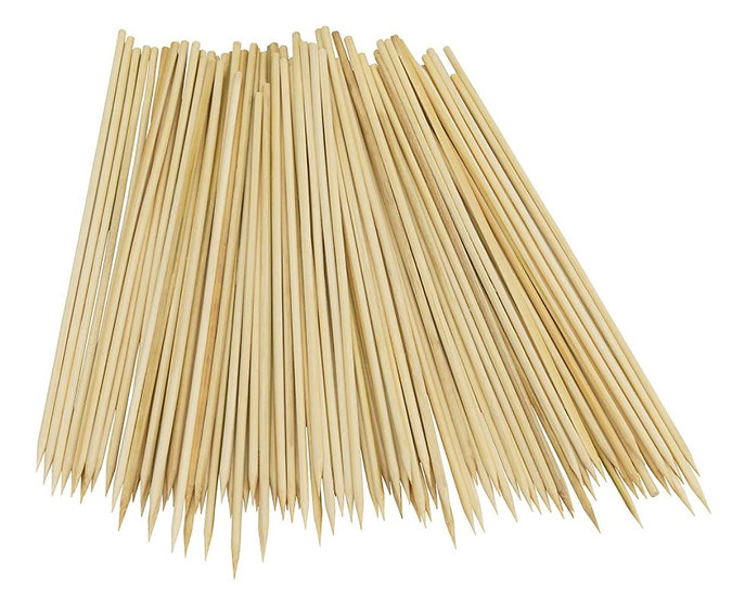 """100PC 12"""" BAMBOO SKEWERS"""