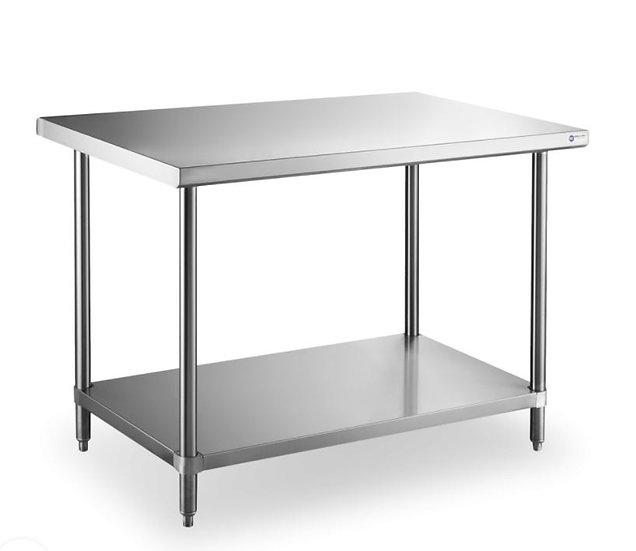 18 Gauge All Stainless Steel Worktable 24×36