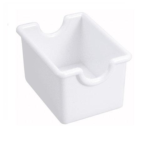 Sugar Packet Holder, Plastic, White [12/1]