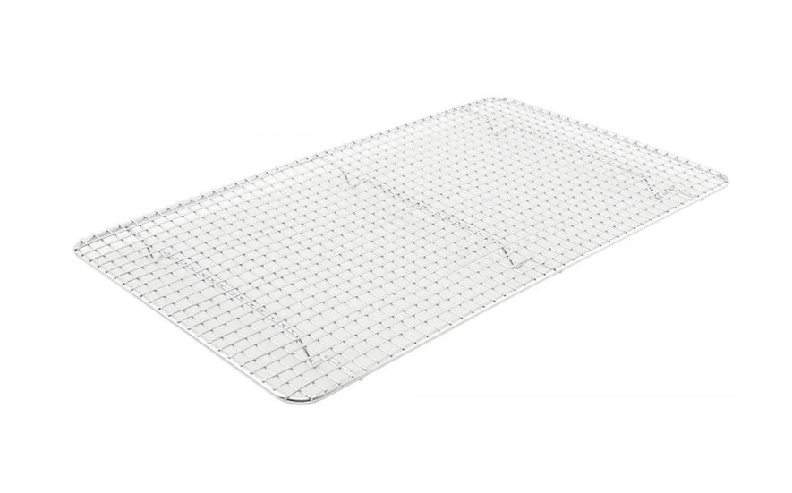 """Pan Grate for Full-size Steam Pan,10"""" X 18"""", Stainless Steel"""