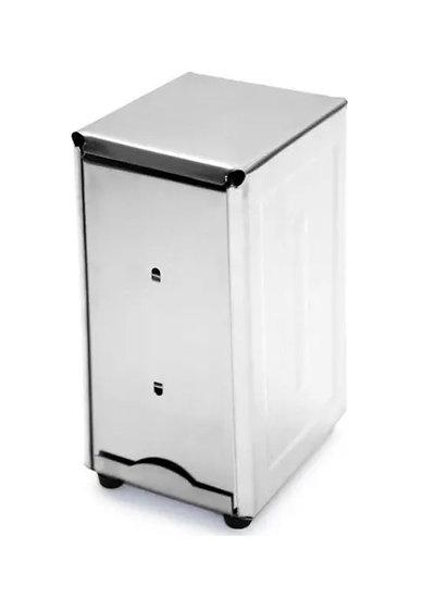 Tall Stainless Steel Napkin Dispenser