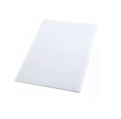 "Cutting Board, 12"" x 18"" x 1/2"", White"