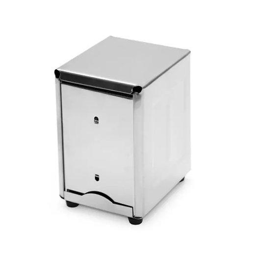 Short Stainless Steel Napkin Dispenser