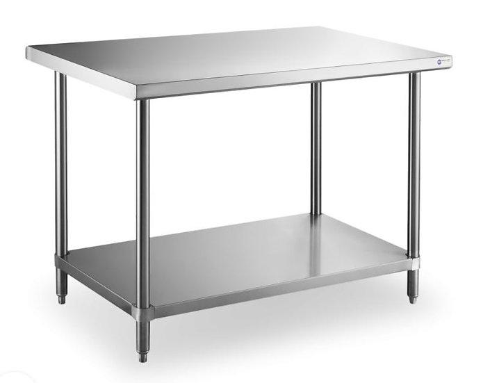 18 Gauge All Stainless Steel Worktable 24×60