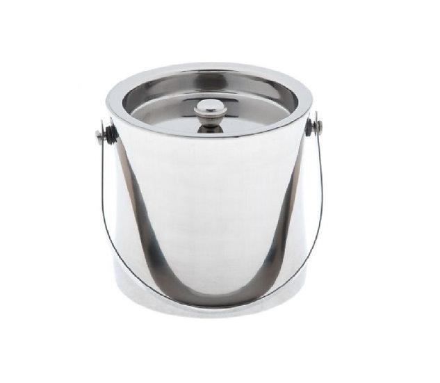 Double-Wall Ice Bucket, 60 oz., S/S