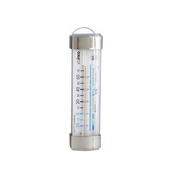 """Freezer/Refrig Thermometer, 3-1/2""""L, Suction Cup"""