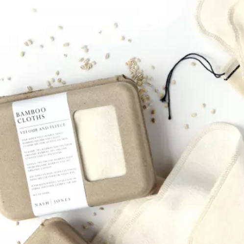 Bamboo Double-sided Makeup Remover Pads