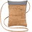 Thumbnail: Be Lively Mini Cross Body Bag | Rustic Cork + Faux Leather