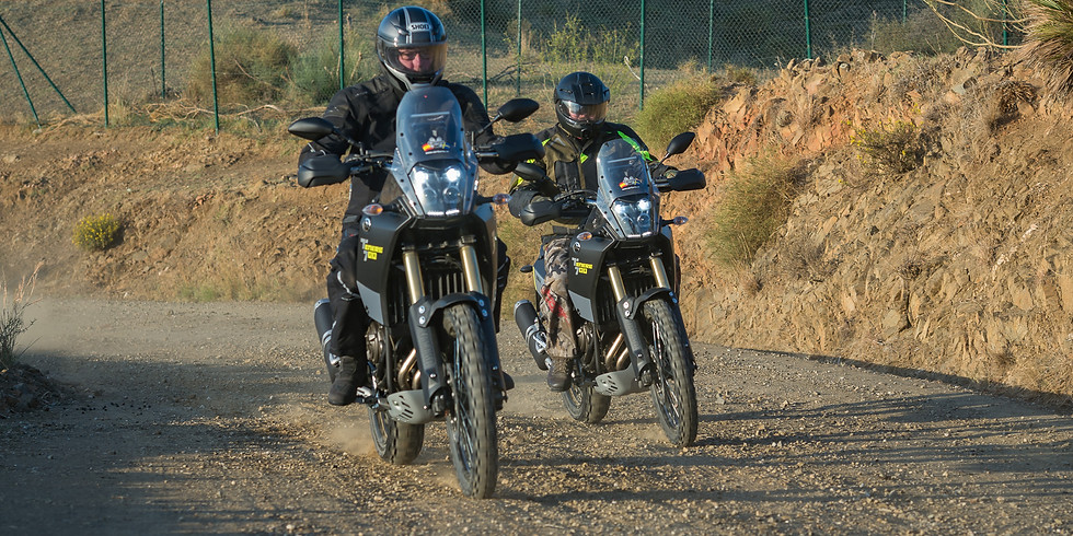 Grustouring i Andalusien – där asfalt möter grus med Yamaha T7  10-14 Mars 2021