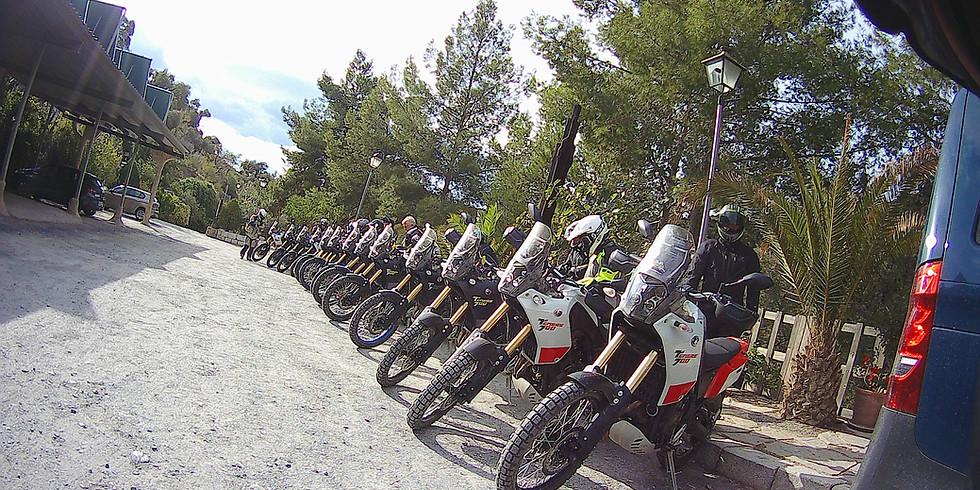 Grustouring i Andalusien – där asfalt möter grus med Yamaha T7