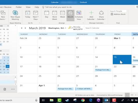 Een Outlook-agenda met anderen delen