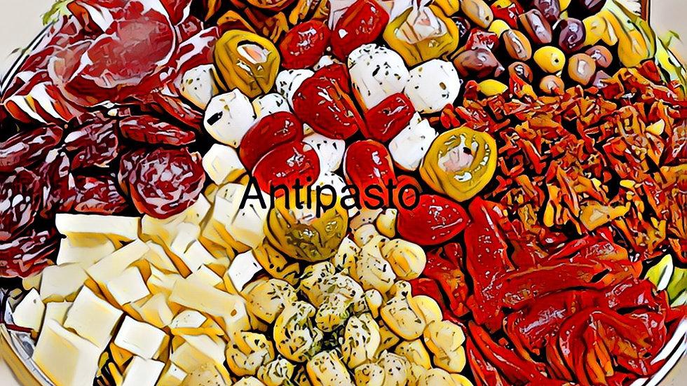 Medium antipasto platter 18-20 People