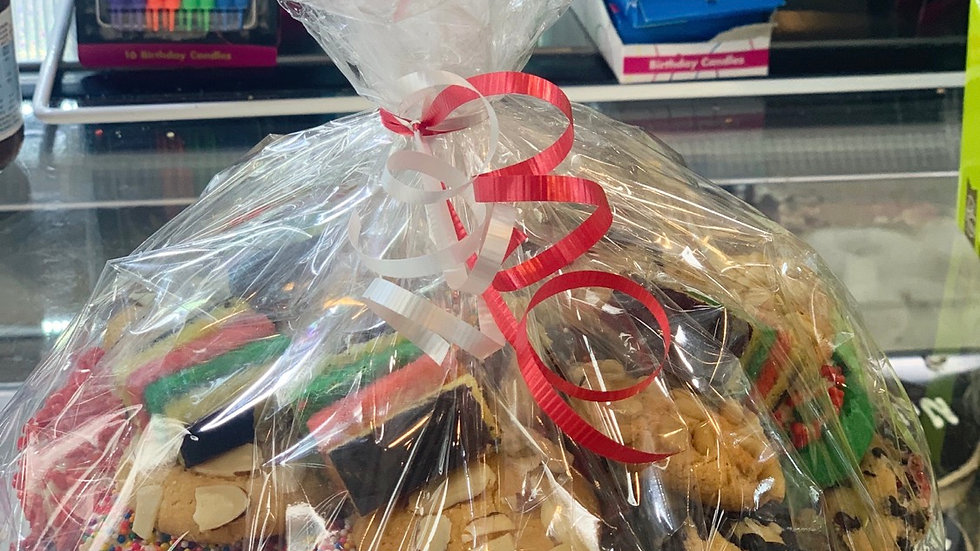 3 pound tray butter cookies