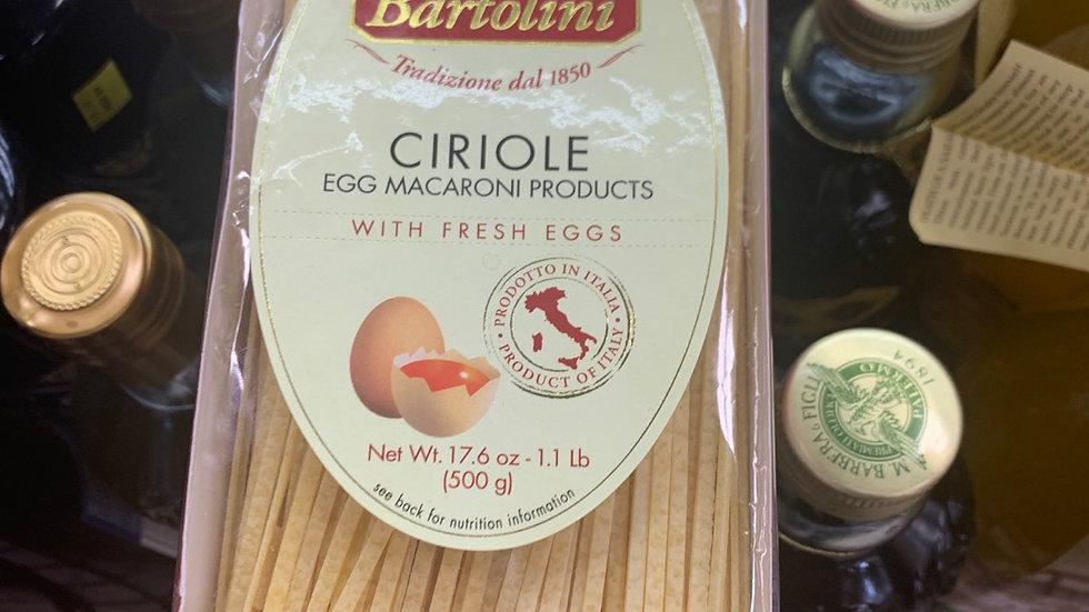 Ciriole Imported egg pasta