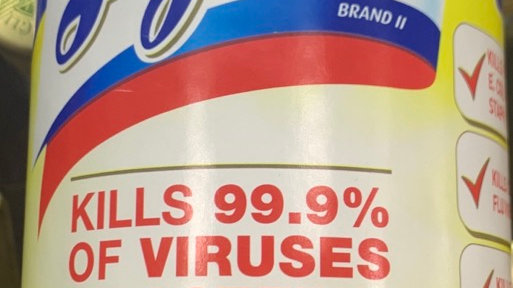Small Lysol disinfectant wipes