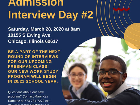 General Admission Interview Day #2