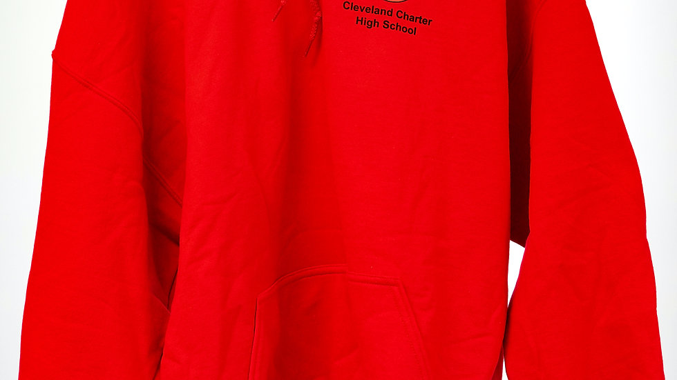 """GMS Hoodie """"Cleveland Charter High School"""" (size S-XL)"""