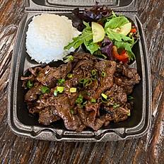Hawaiian BBQ Beef Plate