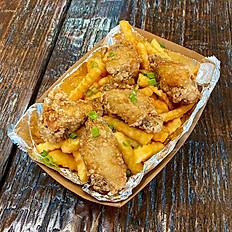 Crispy Garlic Chicken Fries