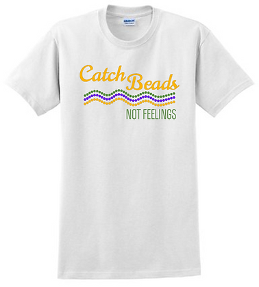 Catch Beads, Not Feelings (Waves) - T-Shirt