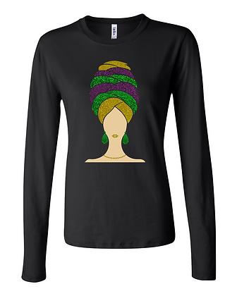 Destiny - Creole Queen - Long-Sleeve Women's Tee