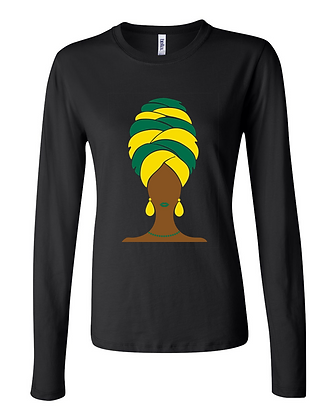 Destiny - 2 Colors - Black Long-sleeve Women's Tee