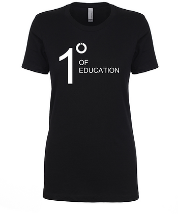 Degrees of Education (Custom) - Women's Tee
