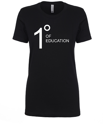Degrees of Education - Women's Tee