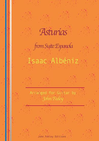 Asturias (Leyenda) by Isaac Albéniz, arr. for guitar by John Feeley