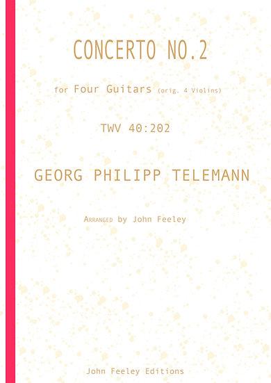 Concerto No.2, TWV 40:202, arr. 4 Guitars: G. P. Telemann