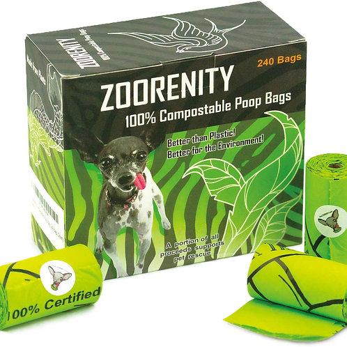Zoorenity 100% Compostable Poop Bags