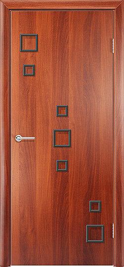 Межкомнатная дверь Геометрия глухая