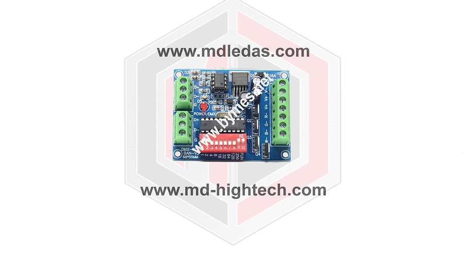 EASY DMX 512 RGBW