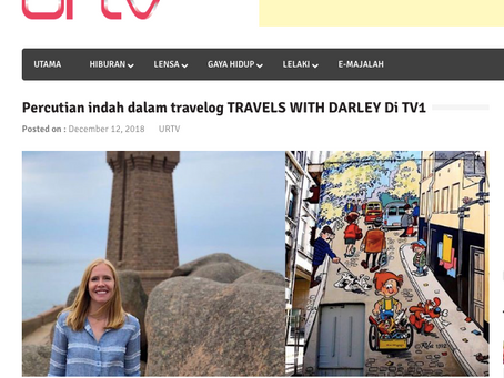 Malaysia Broadcasts Travels with Darley