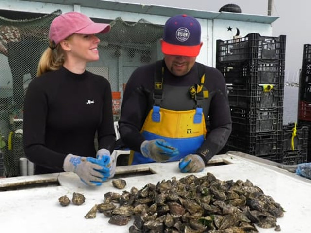 Oyster Farmer for a Day