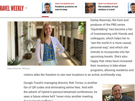 Darley Talks About Pandemic Practices in Travel Weekly