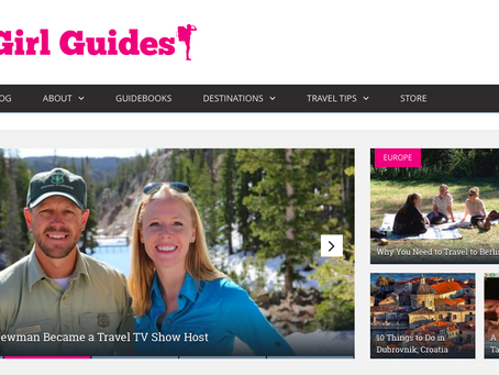 Go Girl Guides: How Darley Newman Became a Travel TV Show Host