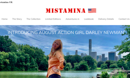 British Fashion Brand Mistamina Features Darley